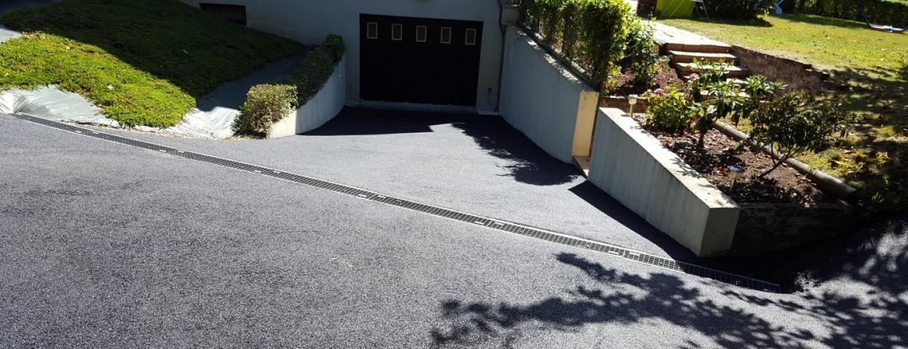 Entreprise de terrassement dans l 39 orne atv terrassement for Terrassement garage